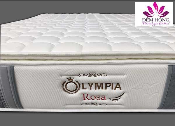 Logo thương hiệu đệm lò xo Olympia Rosa