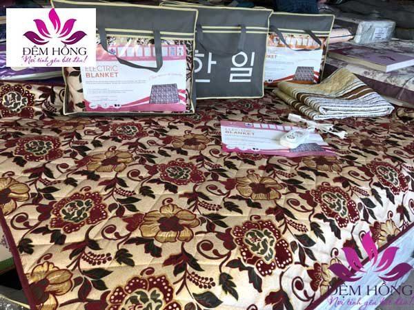 Với kích thước 140x180, đệm điện Kyungdong gấm sưởi ấm toàn bộ giường đôi
