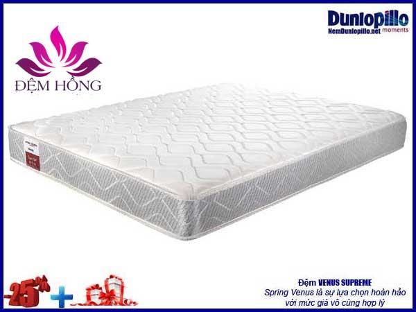 Nệm lò xo Venus Dunlopillo khuyến mại tới 25% kèm nhiều ưu đãi đặc biệt