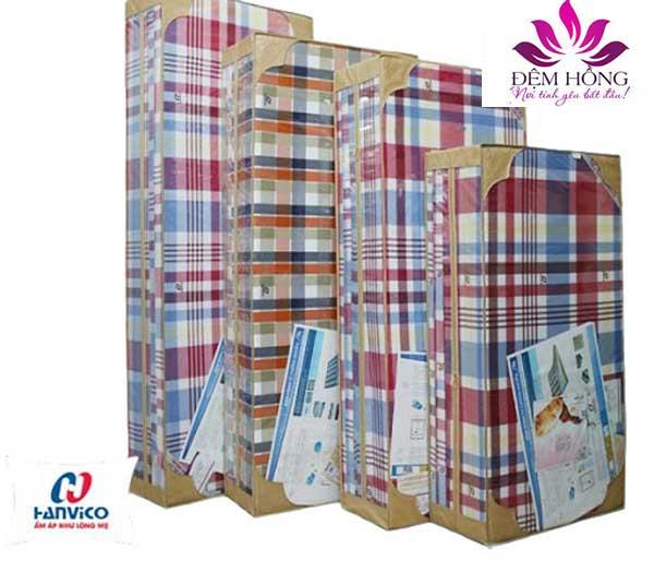 Đệm Hanvico - bao bì đóng gói gọn sang trọng dễ vận chuyển