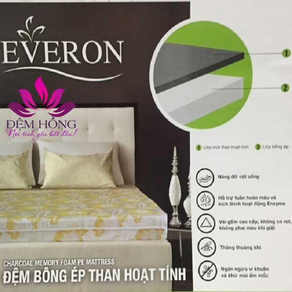 Đệm Everon than hoạt tính chống khuẩn thế hệ mới