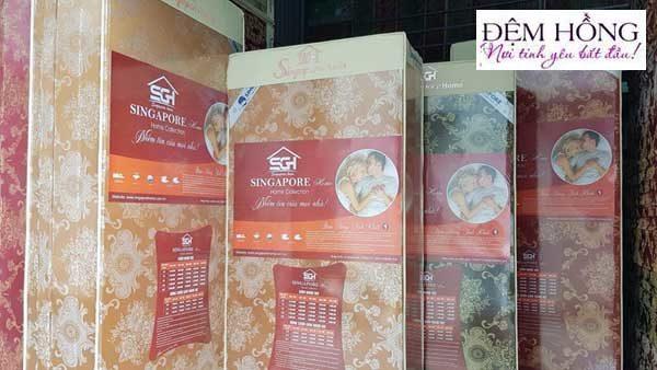 Nơi cung cấp Nệm bông ép Singapore chất lượng cao
