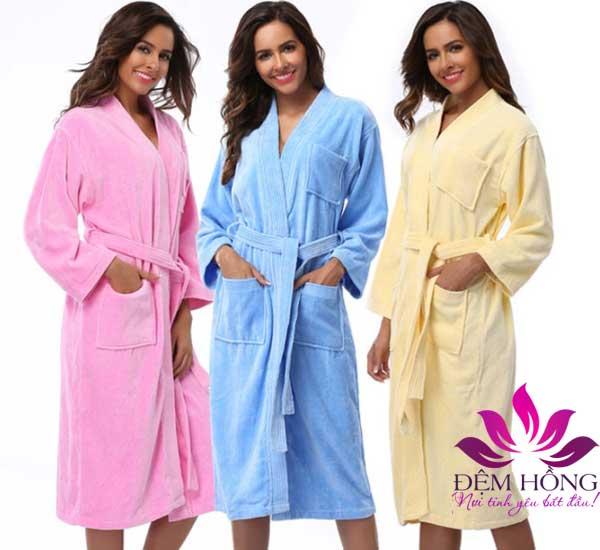 Áo tắm màu Spa chất lượng cao