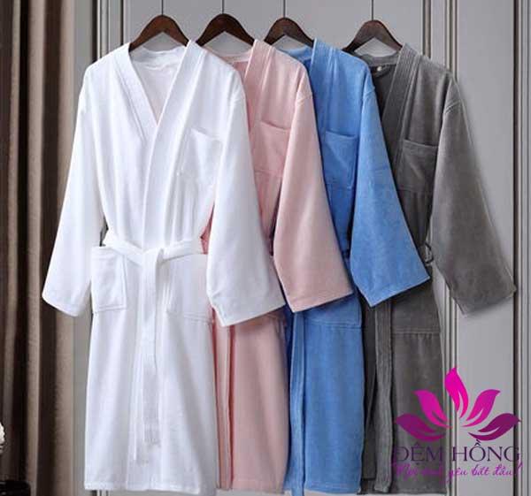 Thiết kế tinh tế của các mẫu áo choàng tắm cotton