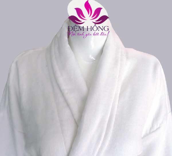 Áo choàng tắm dệt sợi bông chuyên dùng trong khách sạn