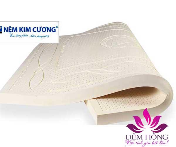 Mẫu đệm cao su thiên nhiên Kim Cương Luxury cao cấp