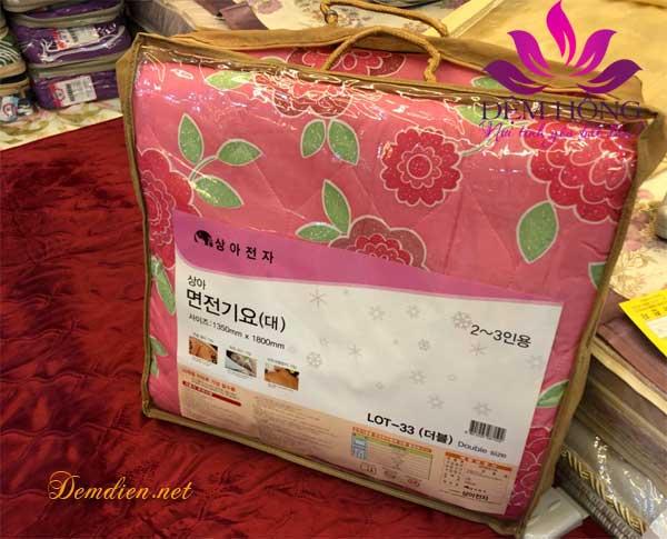Đệm điện Korea nhập khẩu vỏ cotton