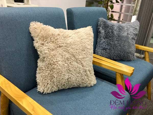 Gối tựa sofa nguyên liệu cao cấp nhập ngoại