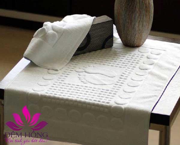 Khăn chùi chân cho khách sạn, spa chất lượng cao