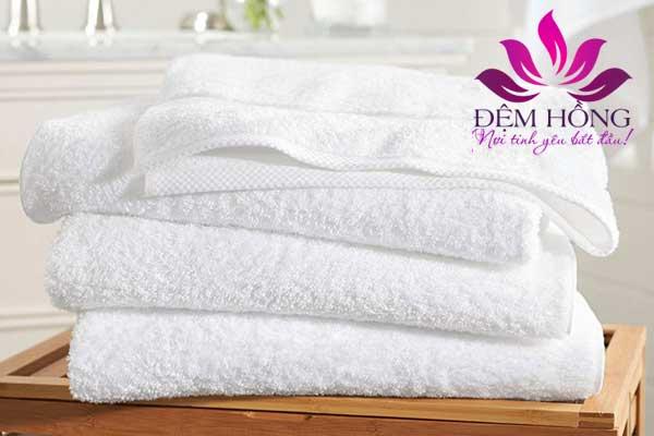 Với chất liệu cotton 100% cao cấp là sự lựa chọn hàng đầu cho khăn tắm