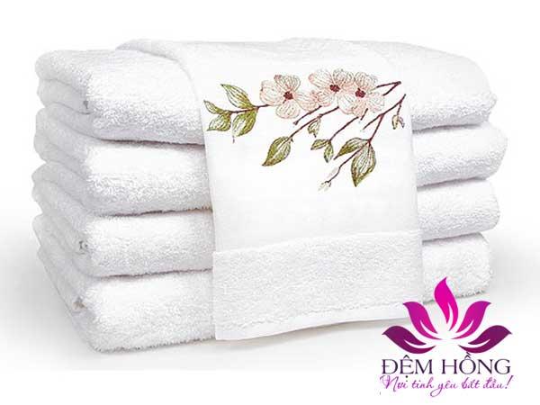 Mẫu khăn tắm cho khách sạn, nhà nghỉ được ưa chuộng