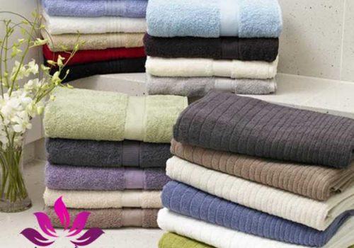 Khăn tắm Spa cao cấp với đầu đủ màu sắc, cotton 100%
