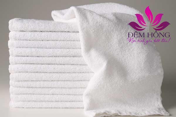Khăn tay khách sạn sợi cotton 100% cao cấp không pha tạp
