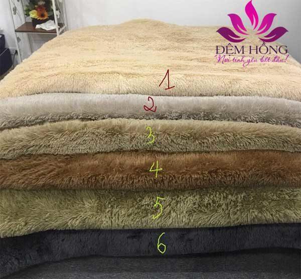 6 màu chủ đạo của chăn lông cừu Tây Tạng cao cấp