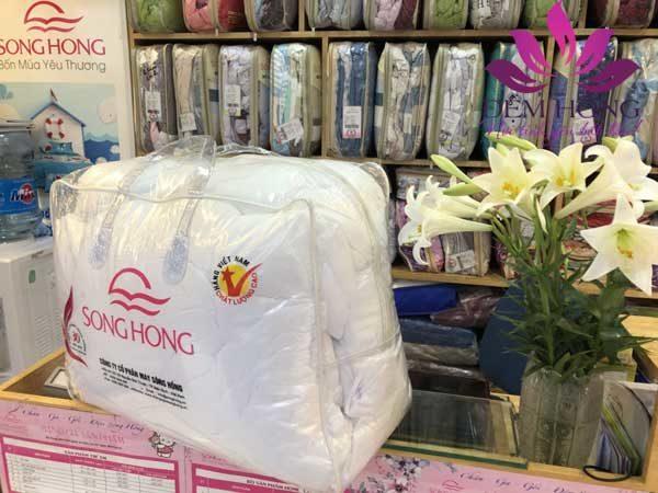 Ruột chăn bông Sông Hồng chính hãng do Đệm Hồng phân phối