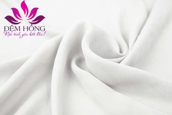 Vải trắng trơn chuyên dụng may chăn ga gối khách sạn
