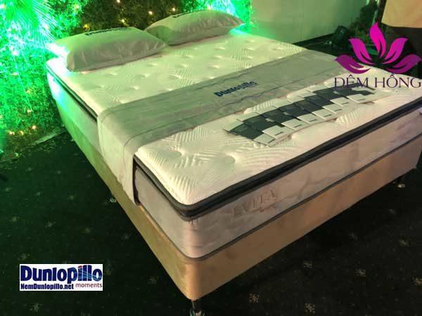 Đệm lò xo Evita, công nghệ lò xo túi siêu nhỏ độc quyền của Dunlopillo
