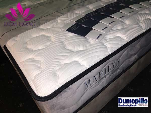 Mẫu đệm lò xo cao cấp thương hiệu Marilyn Dunlopillo