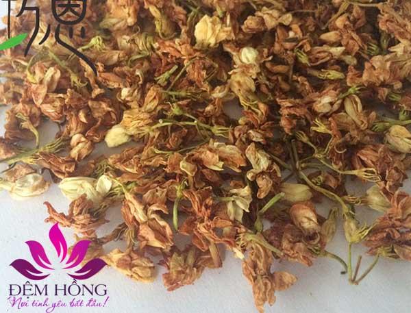Ruột gối hoa nhài có mùi hương thơm dễ chịu