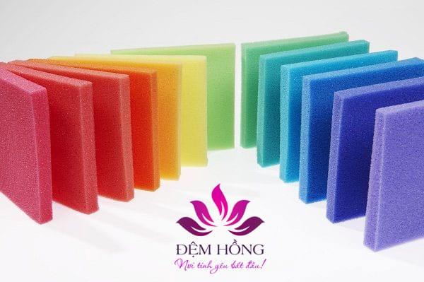 chất liệu cấu tạo các lại Foam trên thị trường hiện nay