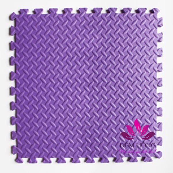 Thảm xốp lót sàn 60x60 màu tím