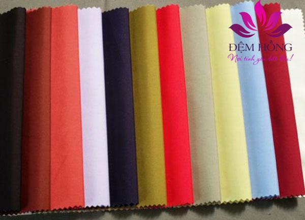 Vải TC cao cấp với nhiều màu sắc lựa chọn trong sản xuất may mặc