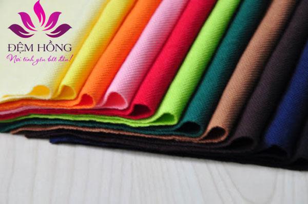 Các đặc tính của vải TC