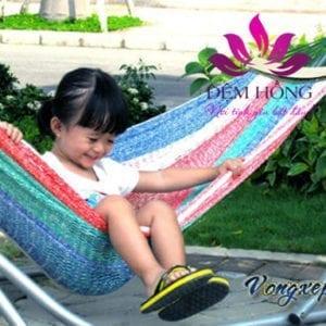 Võng xếp trẻ em Ban Mai cao cấp