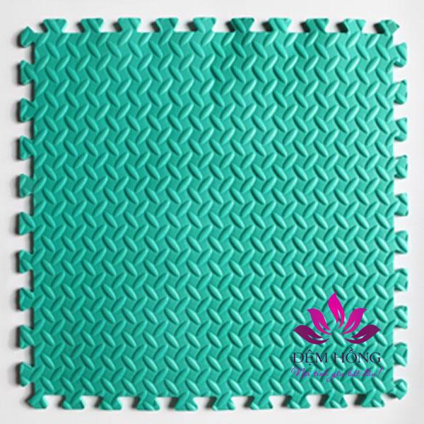 Xốp lot sàn 60x60cm màu xanh ngọc chất lượng cao