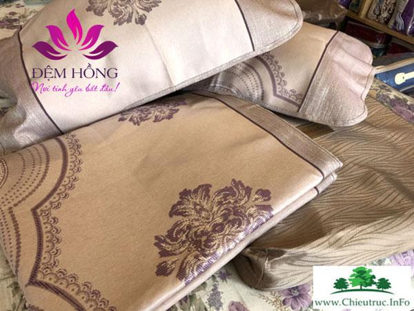 Chiếu Luxury với họa tiết sang trọng chính hãng Shikada