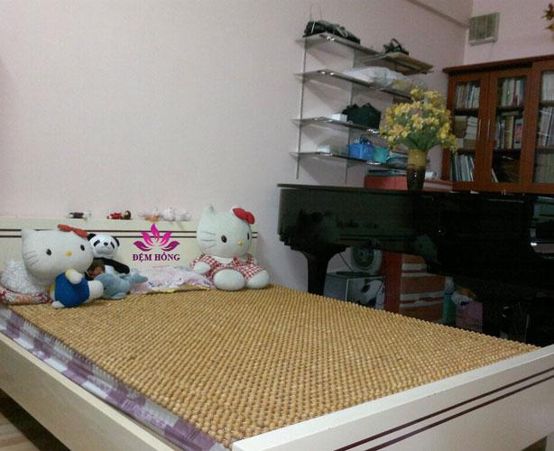 Mẫu chiếu gỗ Pomu Việt Nam đan chắc chắn