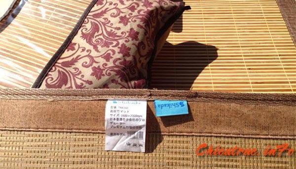 Tem mác chiếu Shikada chính hãng