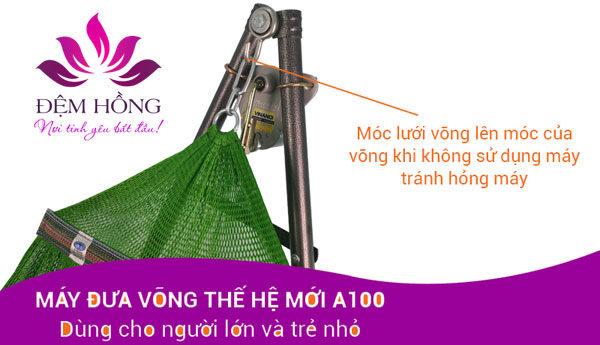 Cách móc lưới đúng cách vào mô tơ quay điện