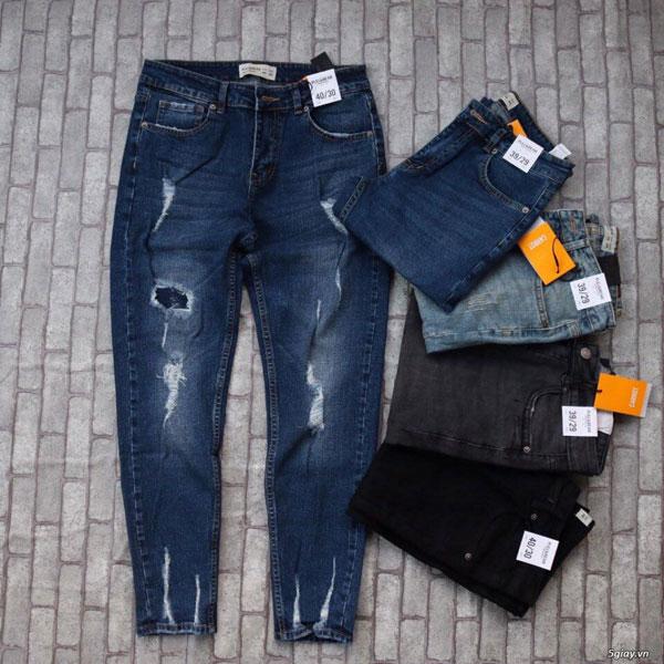 Quần áo được sản xuất từ vải Jeans
