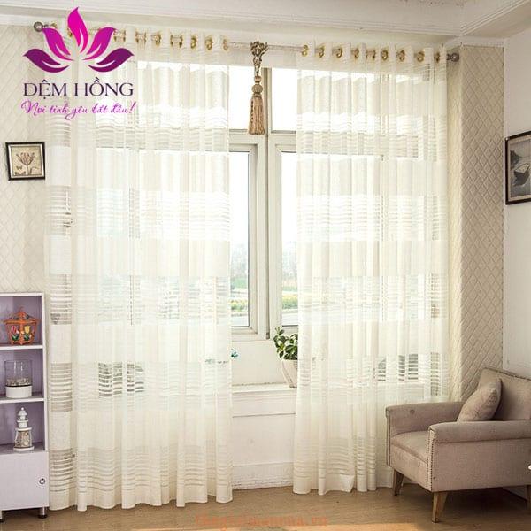Rèm vải voan được ứng dụng trong đời sống vô cùng tinh tế