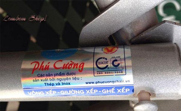 Tem mắc thương hiệu Phú Cường