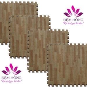 Thảm xốp vân gỗ chất lượng cao chính hãng