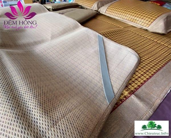 Chiếu 4 góc có thun có giãn, viền bo vải cotton thô cao cấp khổ to