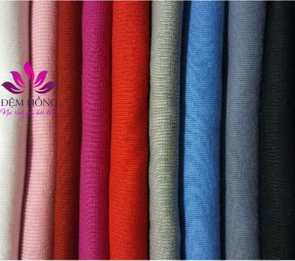 Chất vải có thể nhuộm đa dạng về mầu sắc