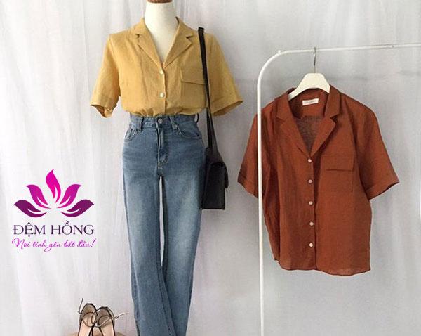 Quần áo được sản xuất từ chất liệu Thô