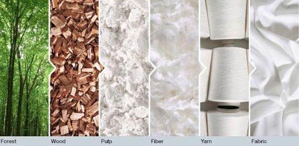 Quy trình sản xuất chất liệu Tencel