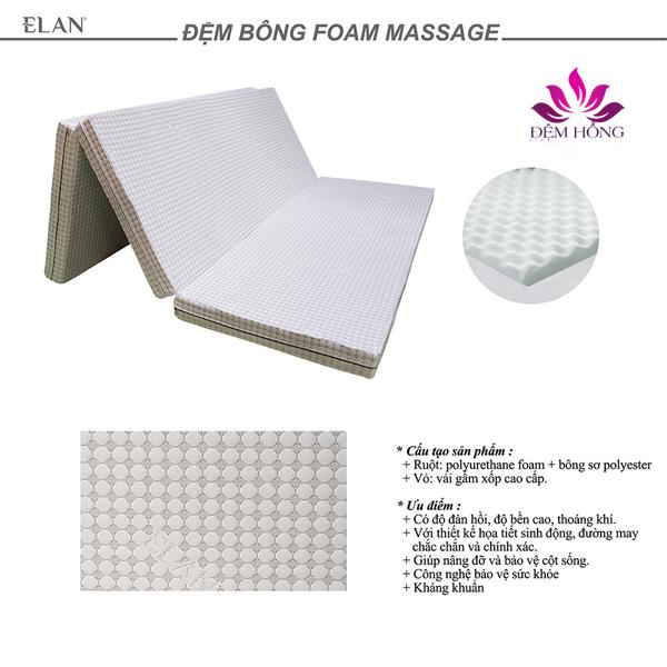 Đệm bông foam massage Elan