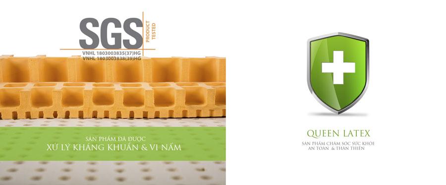 Đệm Standard được xử lý kháng khuẩn và vi nấm