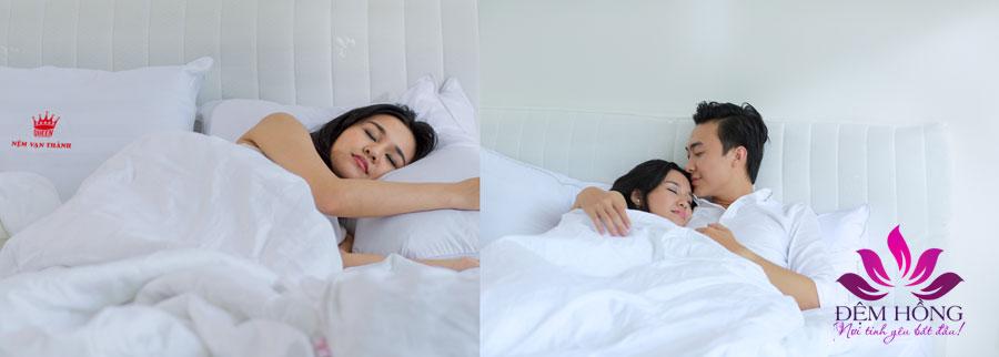 Nệm Vạn Thành đem tới giấc ngủ ngon hơn sau ngày dài làm việc mệt mỏi