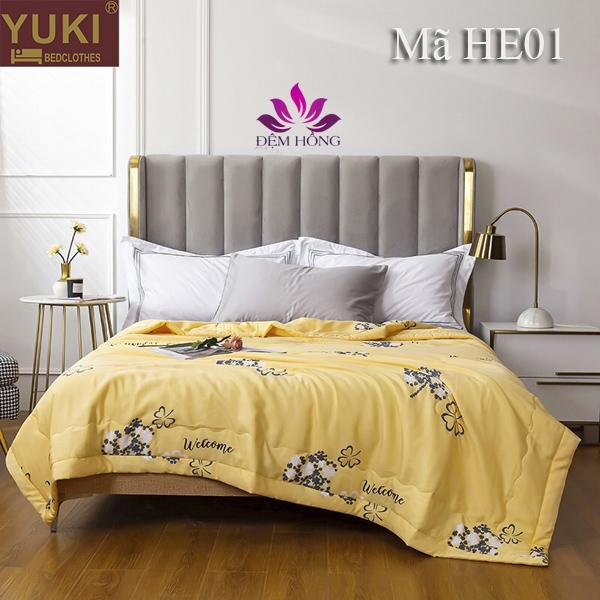 Chăn hè thu cao cấp Yuki Nhật Bản mã mầu HE01