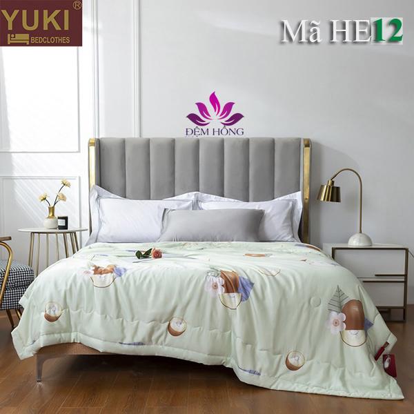 Chăn hè thu cao cấp Yuki Nhật Bản mã mầu HE12