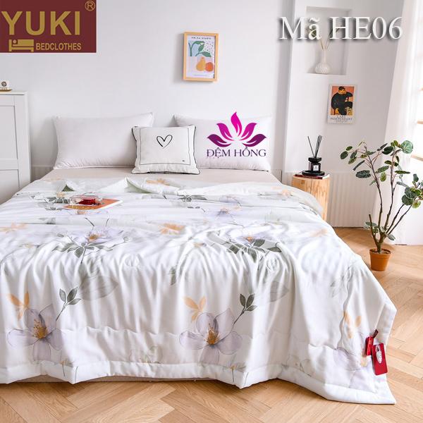 Chăn hè thu cao cấp Yuki Nhật Bản mã mầu HE06