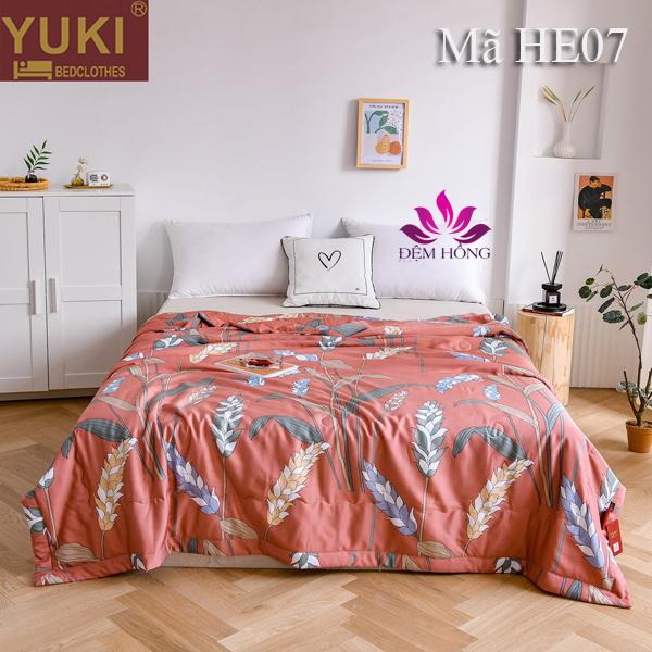 Chăn hè thu cao cấp Yuki Nhật Bản mã mầu HE07