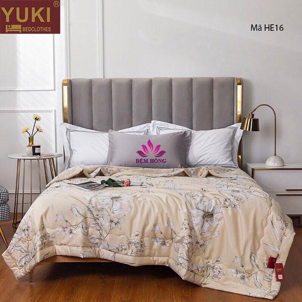 Chăn hè Yuki Nhật Bản vải gỗ sồi mã HE16