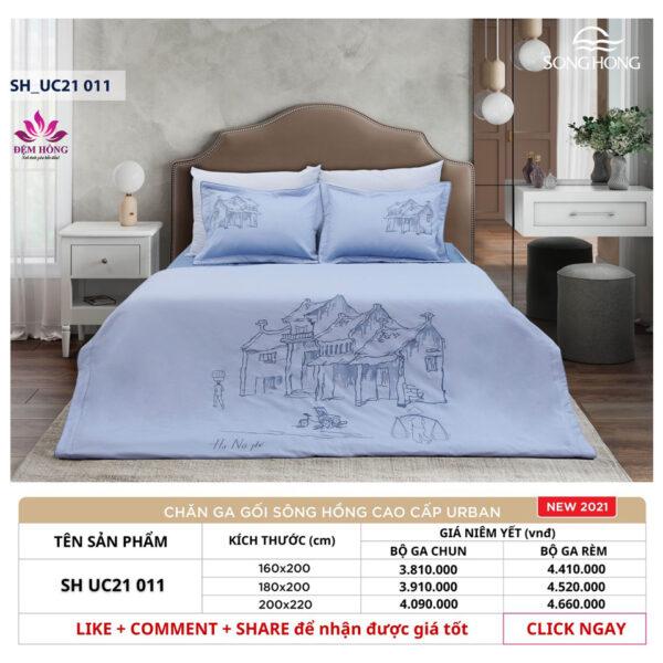 Bảng giá niêm yết chăn ga gối cotton cao cấp SH_UC21-011